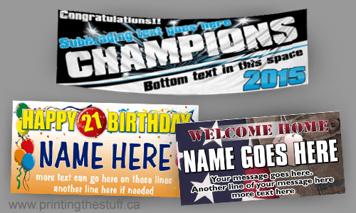 Cheap Vinyl Banners Printing Services Gta