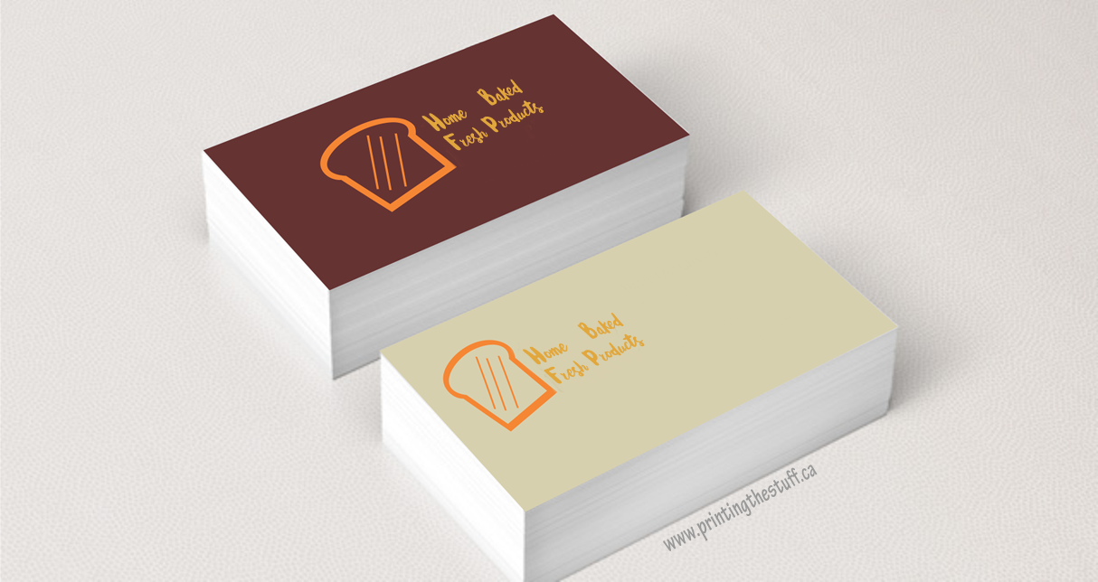 Business Cards | Vinyl Sticker Printing Online - PrintingTheStuff Canada