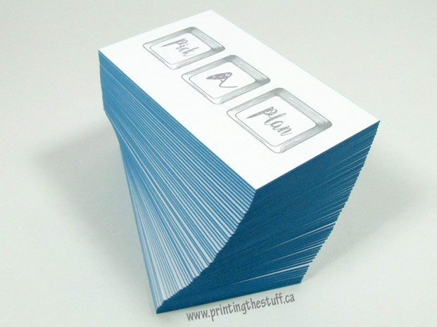Business cards vinyl sticker printing online printingthestuff canada cotton business cards vancouver reheart Gallery
