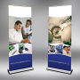 Pull up banner stand Toronto