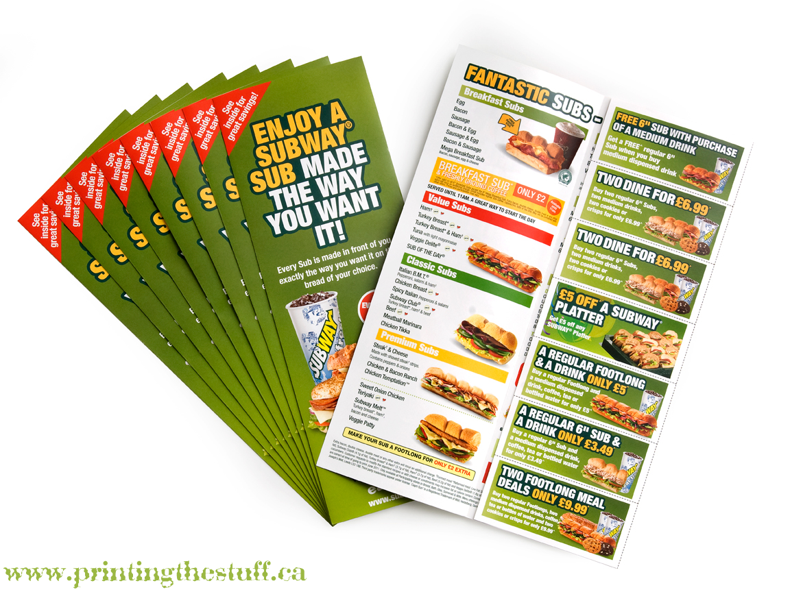 cheap flyer printing canada