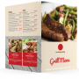 Custom Full Colour Menus Printing Hamilton