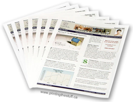 Cheap Newsletter Printing Vancouver