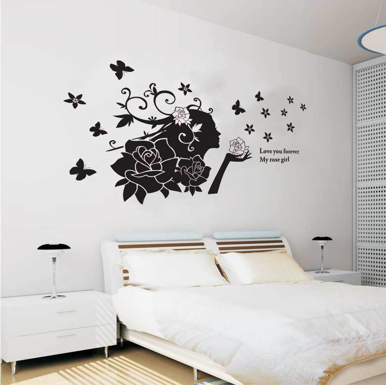Letter cut vinyl wall decal mississauga