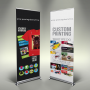 Double Sided Banner Stand Toronto