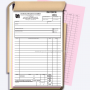 Carbonless Invoice books Langely