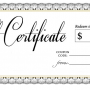 Business Gift Certificates Printing Vancouver