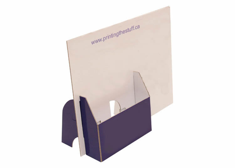 custom brochure holder printing toronto - Paper Brochure Holder Template