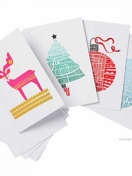Christmas Greeting Cards Printing Ajax