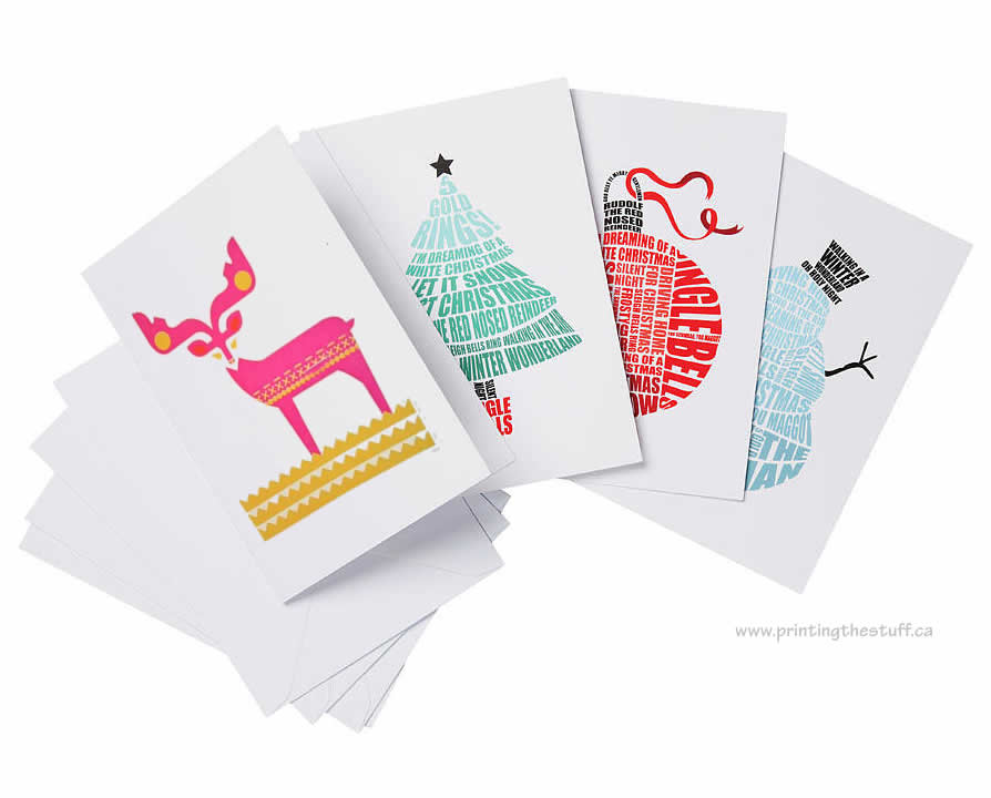 Greeting cards vinyl sticker printing online printingthestuff canada christmas greeting cards printing ajax m4hsunfo