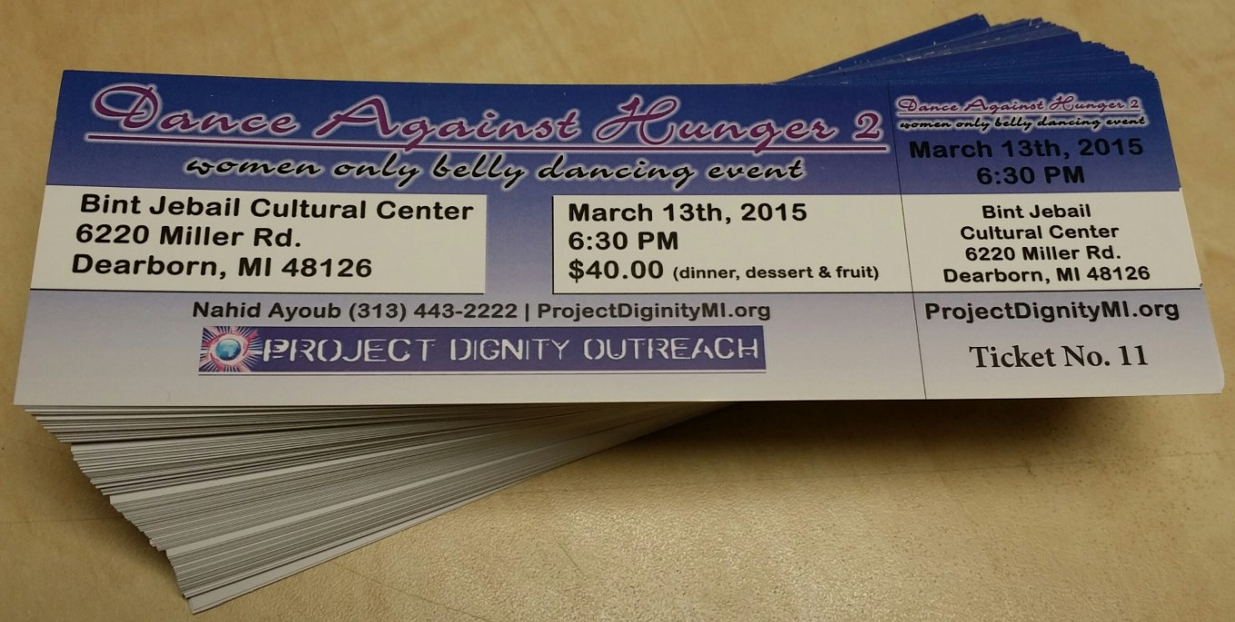 Event Tickets Cheap Ticket Printing Canada