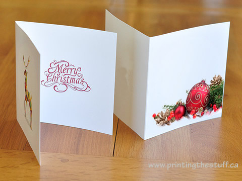 Greeting cards vinyl sticker printing online printingthestuff canada folded greeting cards printing toronto m4hsunfo