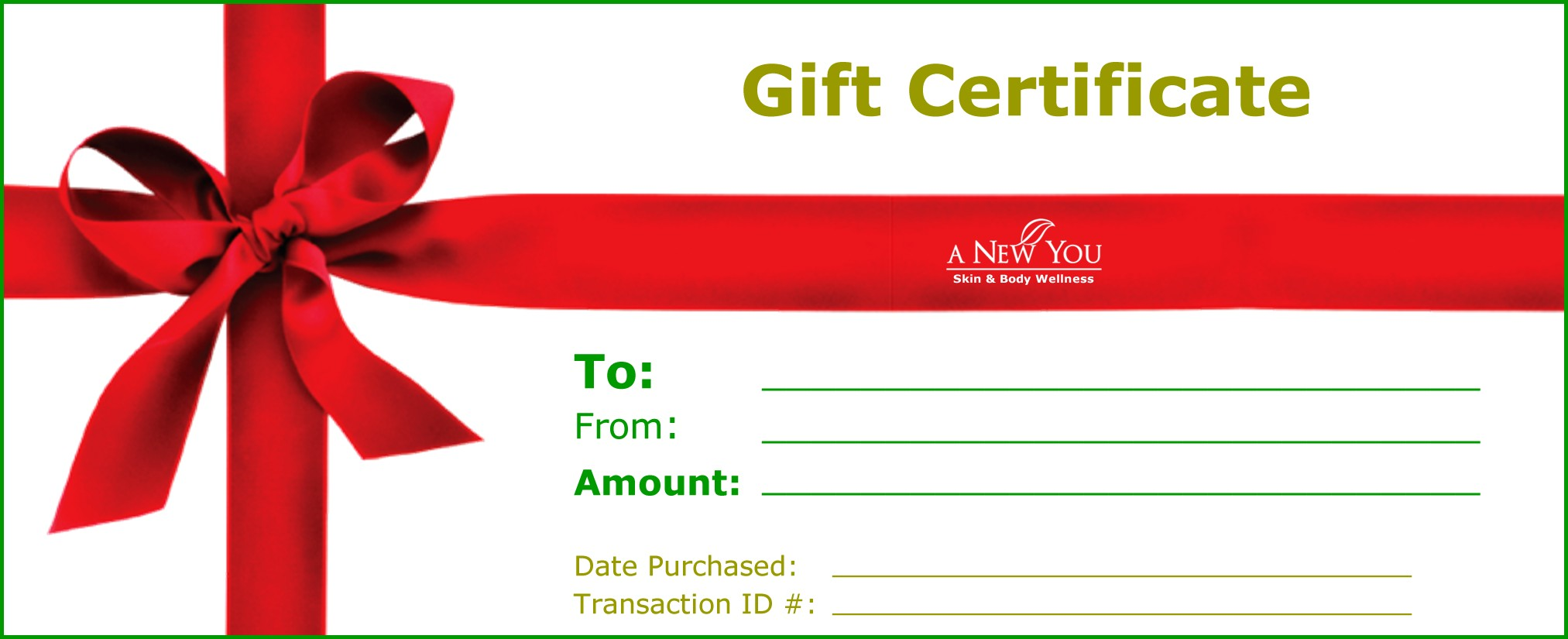Gift Certificates Printing Online Printingthestuff Canada
